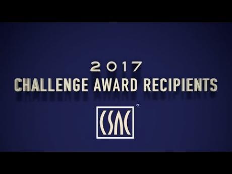 2017 CSAC Challenge Award Recipients