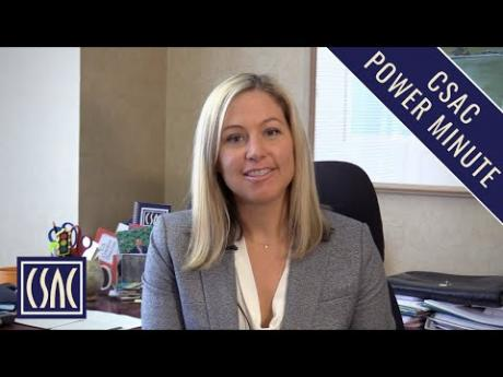 CSAC Power Minute: A Top State Budget Priority for Counties — Disaster Response & Recovery