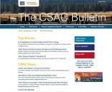 Image of Latest CSAC Bulletin