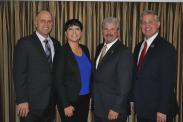 (From L) Stanislaus County Supervisor Vito Chiesa, Kern County Supervisor Leticia Perez, Amador County Supervisor Richard Forster and San Diego County Supervisor Dave Roberts