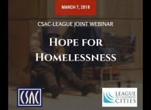 CSAC Webinar – Hope for Homelessness