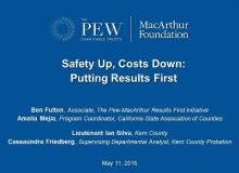 CSAC Webinar — Safety Up, Costs Down: Putting Results First — May 11, 2016