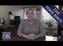 CSAC Power Minute: Darby Kernan Discusses the End of This Year's Legislative Session