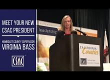 Meet Your New CSAC President: Virginia Bass