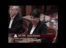 CSAC Opposes AB 1250, Senate Governance and Finance Committee, July 12, 2017