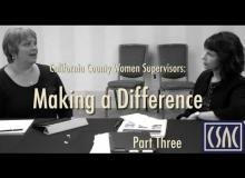 California County Women Supervisors Making a Difference Part 3