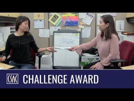"CSAC Challenge Award: Alameda County's ""Partnering to Care for Those in Need"""