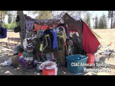 CSAC Advocacy Spotlight: Homelessness