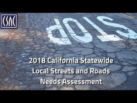 2018 California Statewide Local Streets and Roads Needs Assessment