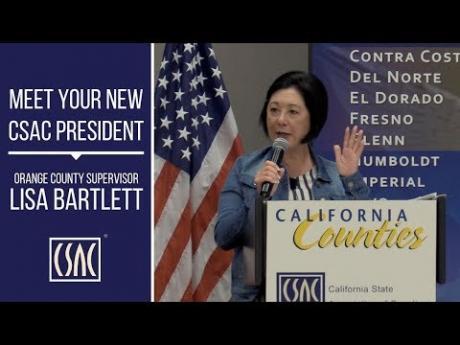 Meet Your New CSAC President, Orange County Supervisor Lisa Bartlett