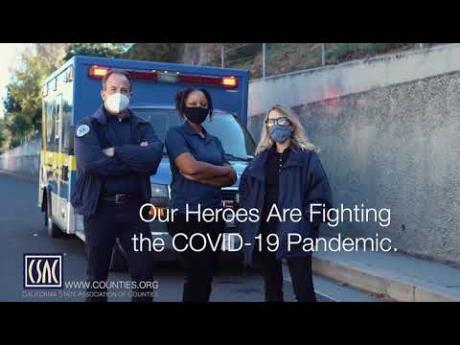 Keep Going for the Heroes PSA