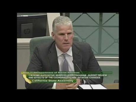 CSAC Testifies on Massive IHSS Cost Shift