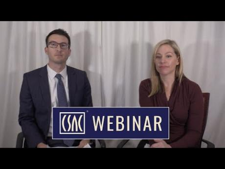 CSAC Webinar – Public Safety Power Shutoff (PSPS) Funding