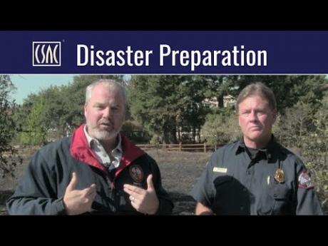 Disaster Preparation: Lessons Learned from Sonoma County