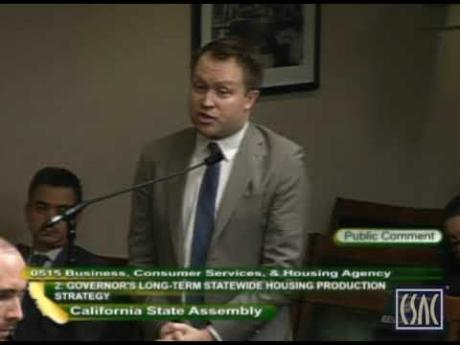 CSAC Testifies at Assembly Hearing on Governor's Housing and Homelessness Proposals