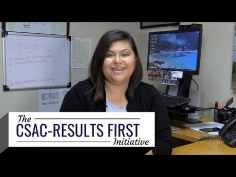CSAC-Results First: Building A Culture of Evidence-Based Policymaking