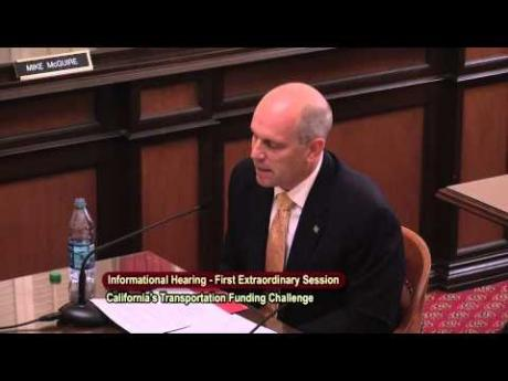 Video of Testimony by CSAC President Vito Chiesa before Senate Committee (July 2, 2015)