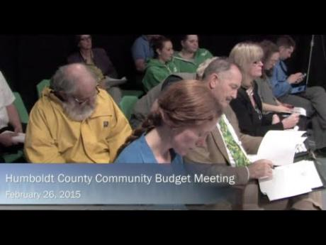 Humboldt County – Interactive Multi-Site Community Meeting