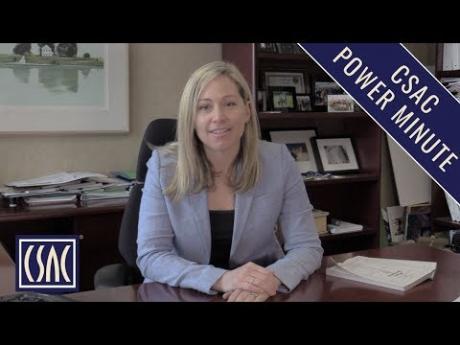 CSAC Power Minute: AB 1054 – Wildfire Legislation