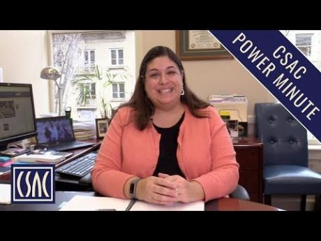 CSAC Power Minute: A Top State Budget Priority for Counties — Housing & Homelessness Programs