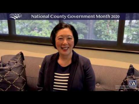 CSAC President Lisa Bartlett Honors National County Government Month