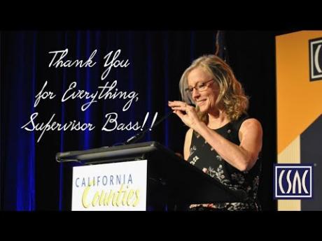 Thank You, Humboldt County Supervisor Virginia Bass