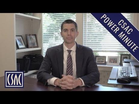 CSAC Power Minute: 2019-20 Budget and In-Home Supportive Services (IHSS)