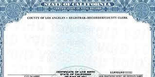 filling out the california birth record