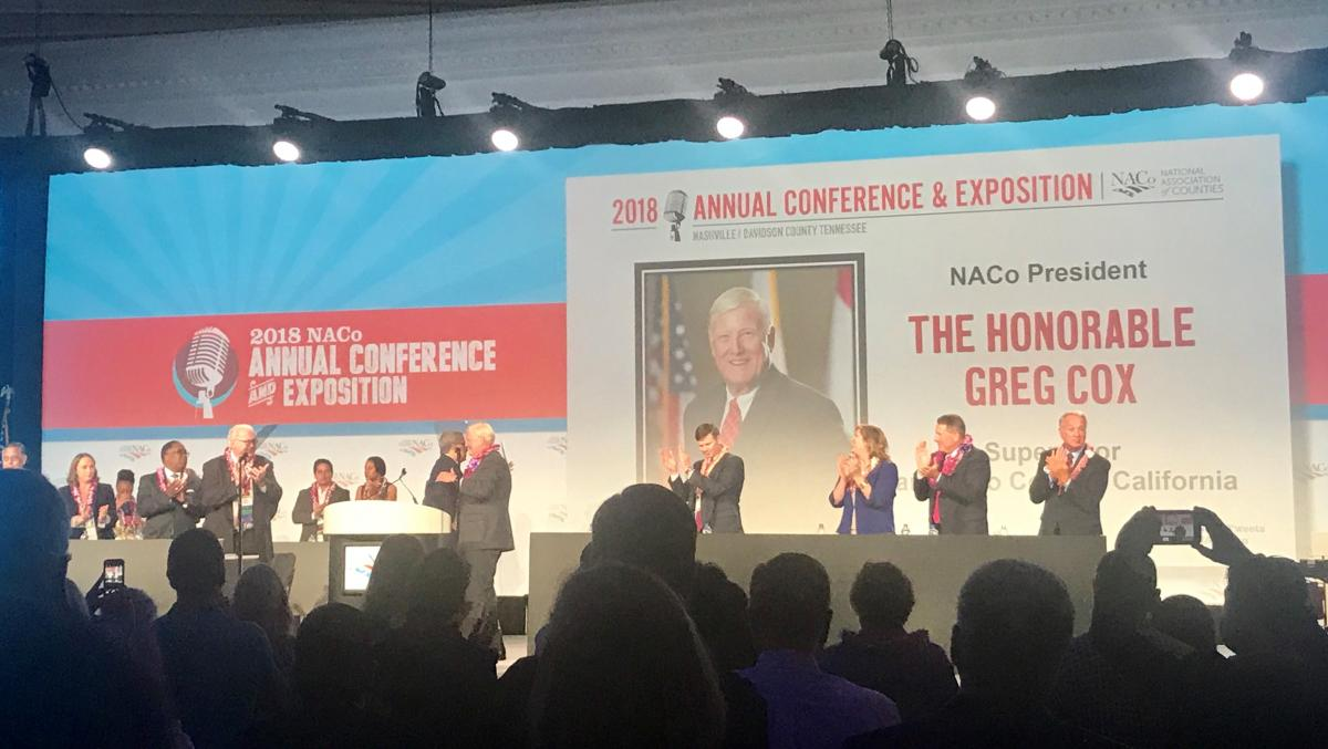 NACo's New President: California's Greg Cox - California