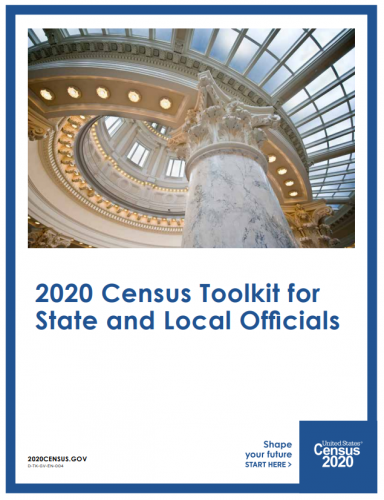 Cover of U.S. Census 2020 Toolkit for Local Governments