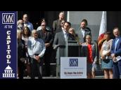 CSAC-Support Wildfire Plan Signed by Governor