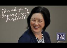 Thank You, Orange County Supervisor Lisa Bartlett