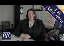 CSAC Power Minute: 2019-20 Budget and Next Generation 911