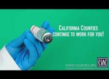 COVID-19 Vaccine Messaging — CSAC President Gore #1
