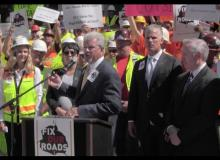 Fix Our Roads Transportation Press Conference/Rally — May 19, 2016