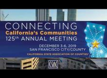 Join Us for CSAC's 125th Annual Meeting in San Francisco City/County!