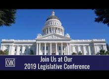 Join Us at the 2019 CSAC Legislative Conference